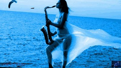 Happy Valentine Day: Saxophone Desktop Wallpapers