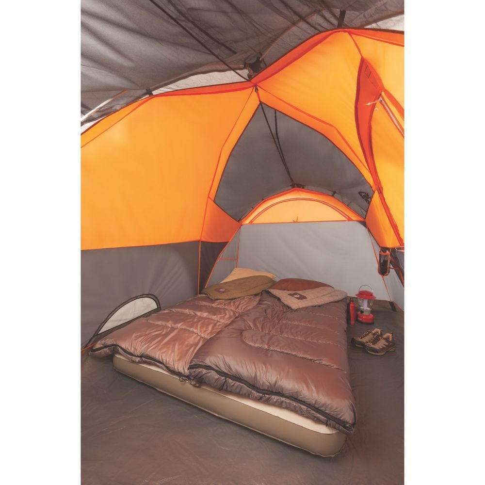 Coleman Yarborough Pass Fast Pitch 6 Person Tent Hinged Door Coleman Family Tent Camping Tent Camping Best Tents For Camping
