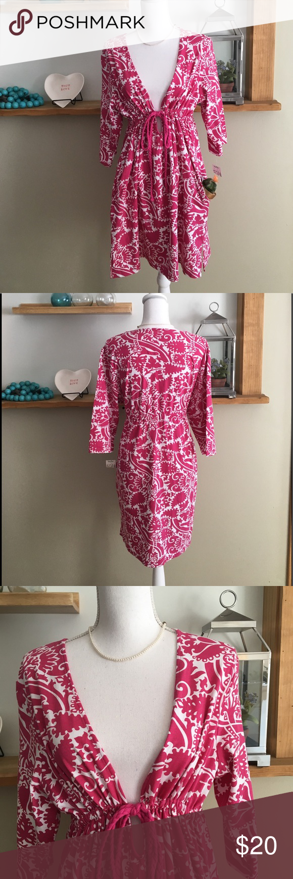 Inque Casuals Dress Size L New With Tag Casual Dress Empire Waist Dress Dresses [ 1740 x 580 Pixel ]
