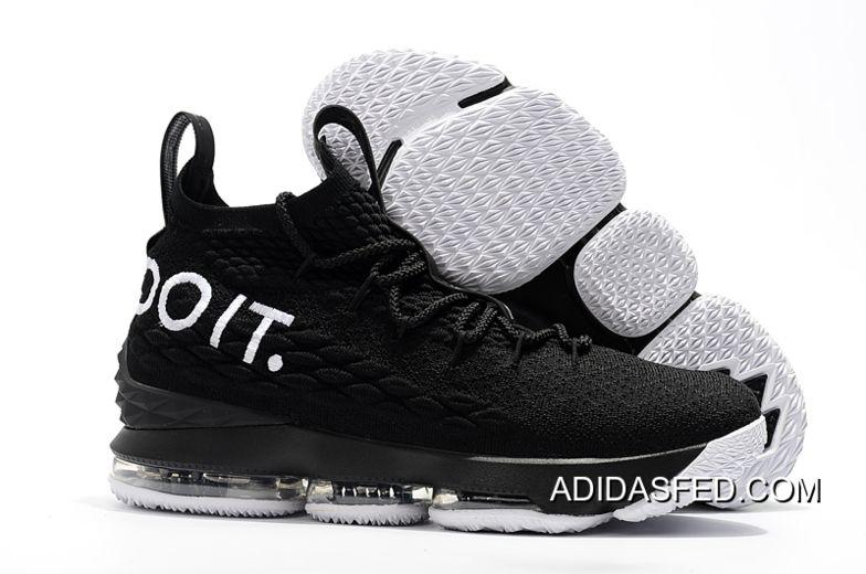 2bbc189ebc2b New Release Nike LeBron 15  Just Do It  Black White in 2019