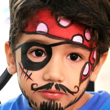 pirate face makeup for kids not necessarily halloween
