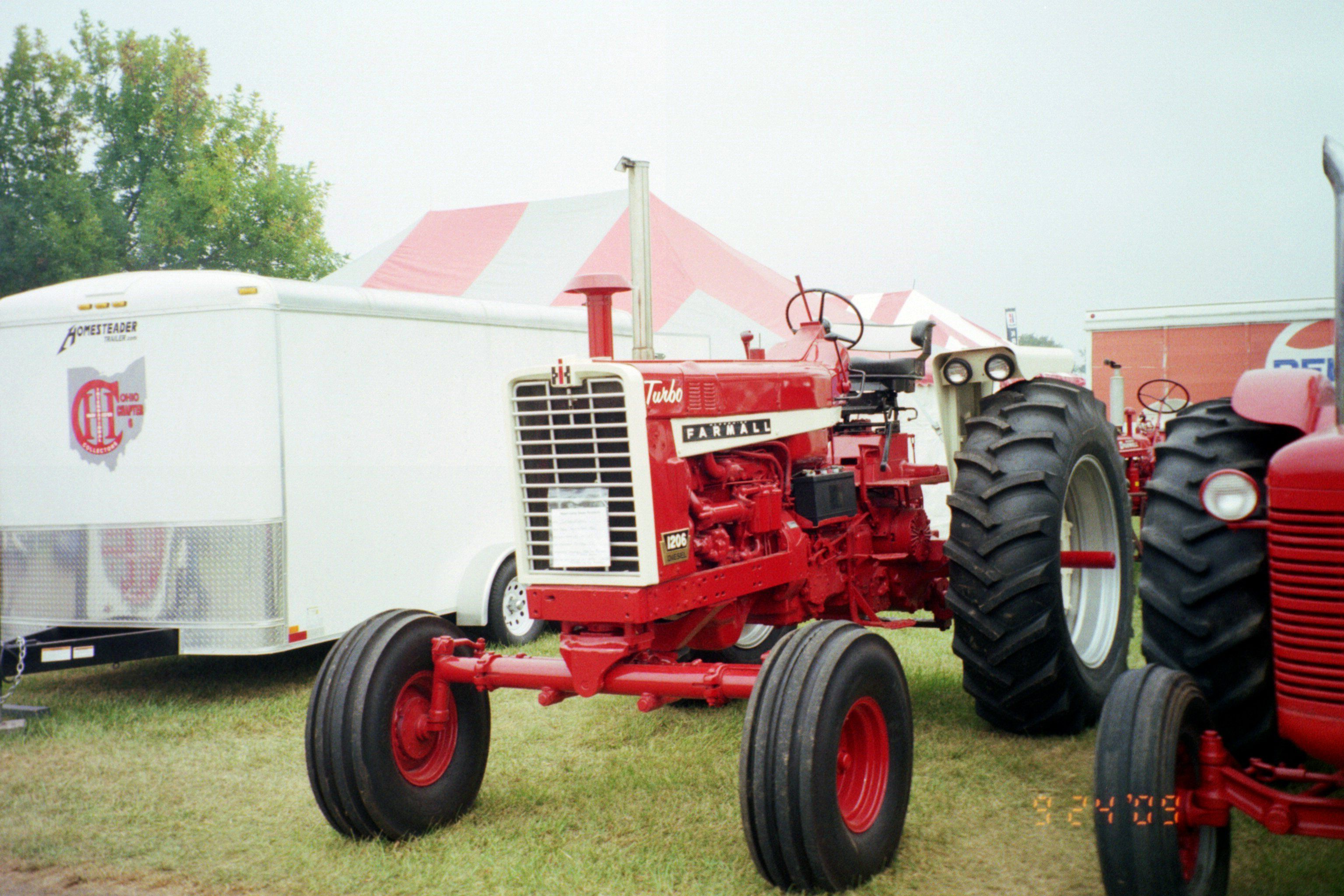 Farmall 1206 Turbo 112hp Main competitors were The 120hp