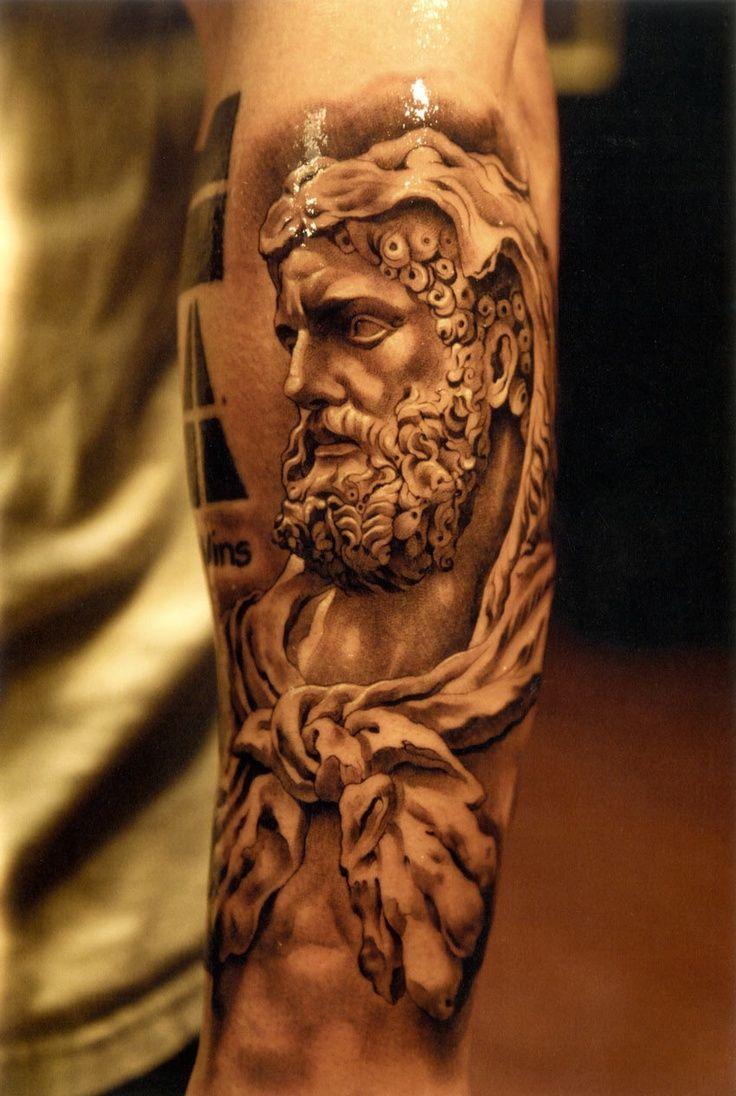 greek statue ink tattoo art pinterest greek statues