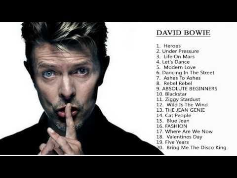 Greatest Hits David Bowie-David Bowie mejores canciones - YouTube