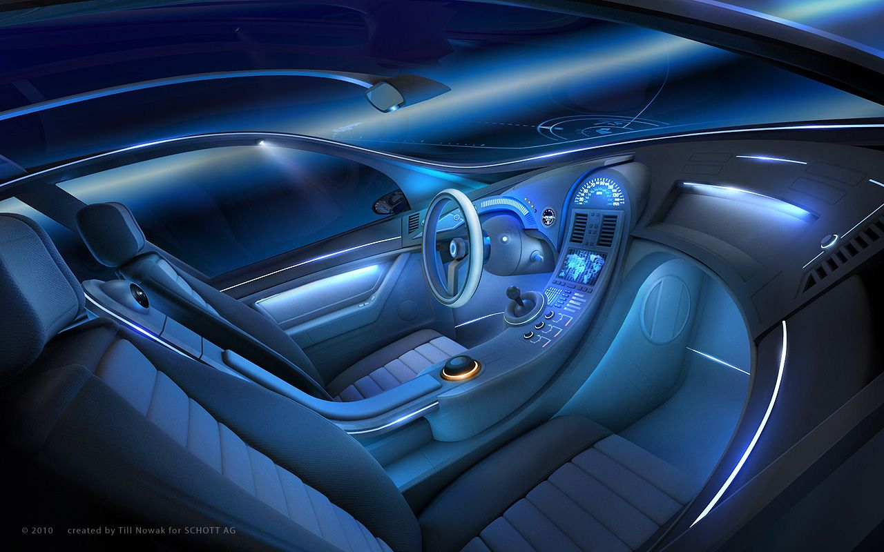 Car Interior Lighting Design | ▻ INTERIOR CAR SKETCHES ...