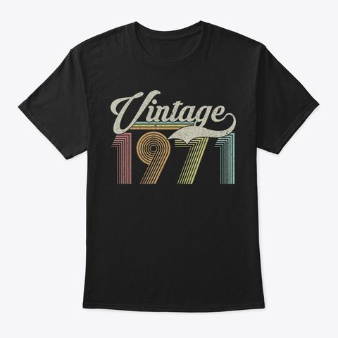 Discover 49 Years Old Vintage Retro Classic 1971 áo T-Shirt, a custom product made just for you by Teespring. With world-class production and customer support, your satisfaction is guaranteed.