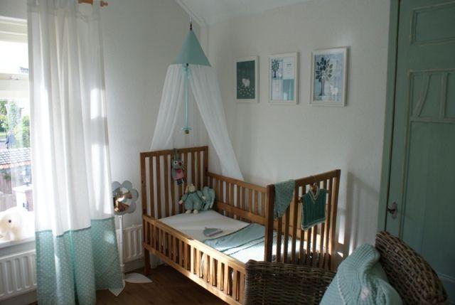 Kleuren Voor Babykamer : Babykamer olivier in kleuren sapphire en mint gecombineerd met hout