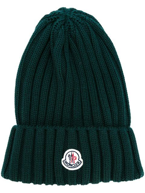 6ba2613dbfe MONCLER ribbed beanie hat.  moncler  hat