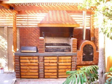 Fotos de parrilla y quincho ideas para el hogar for Bar de madera chile