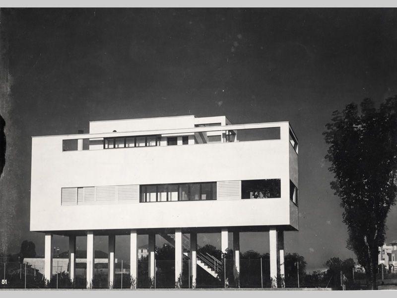 Top Villa Figini 1934-35, Villaggio dei Giornalisti, Milano  CX71