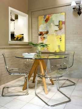 muebles-salon-comedor-pequeno | HOGAR | Pinterest | Salon comedor ...