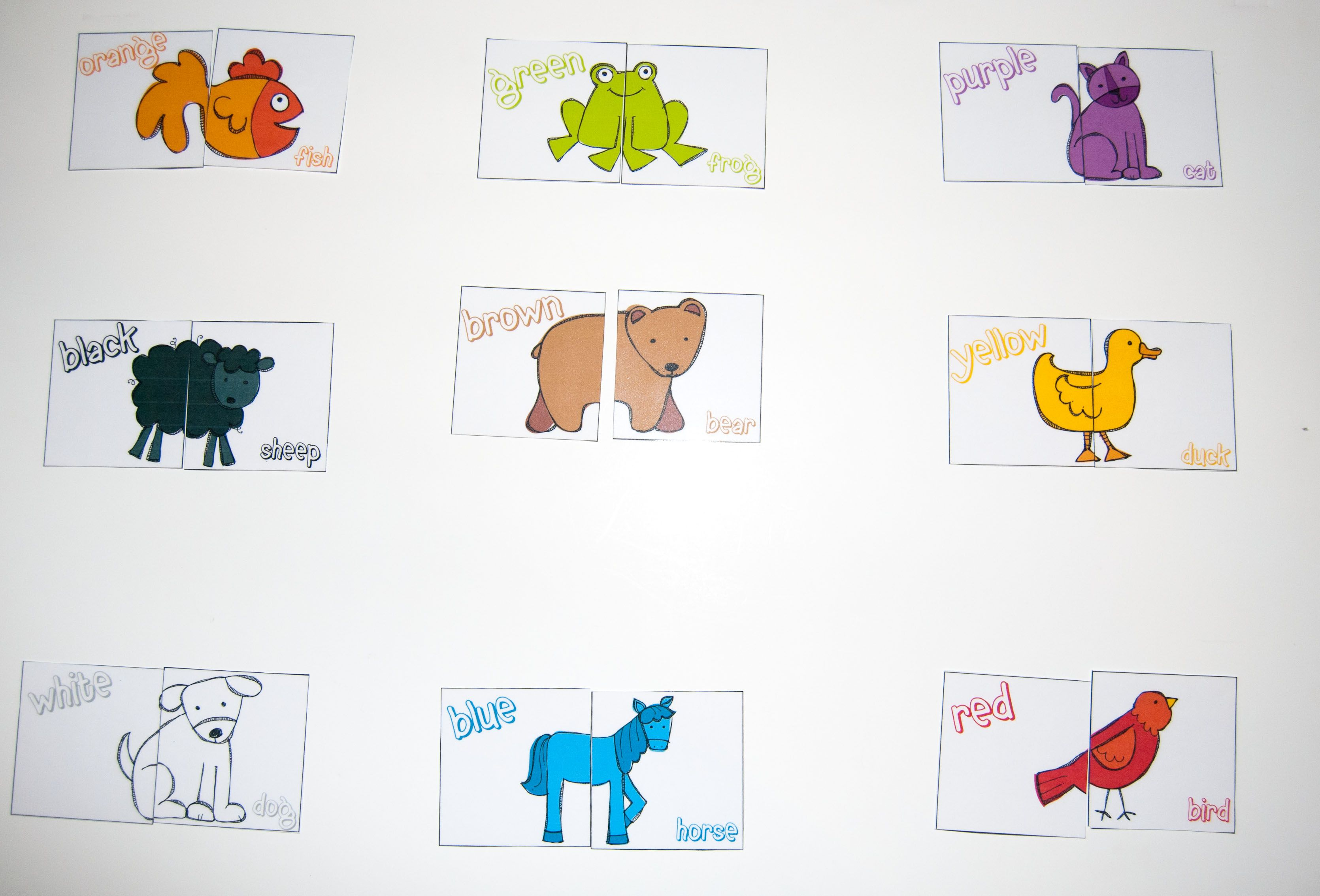 Brown Bear Brown Bear What Do You See Puzzles Match