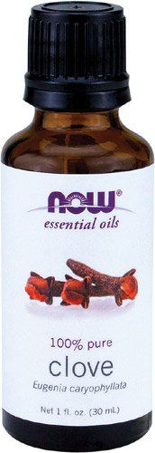 Now Foods: Clove Oil , 1 oz (2 pack)