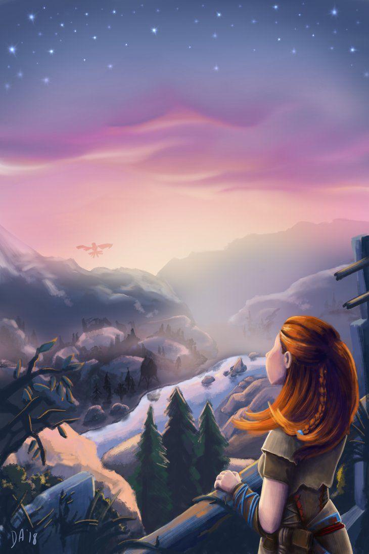 'Discovery' Horizon Zero Dawn Inspired Artwork by divane21 on DeviantArt