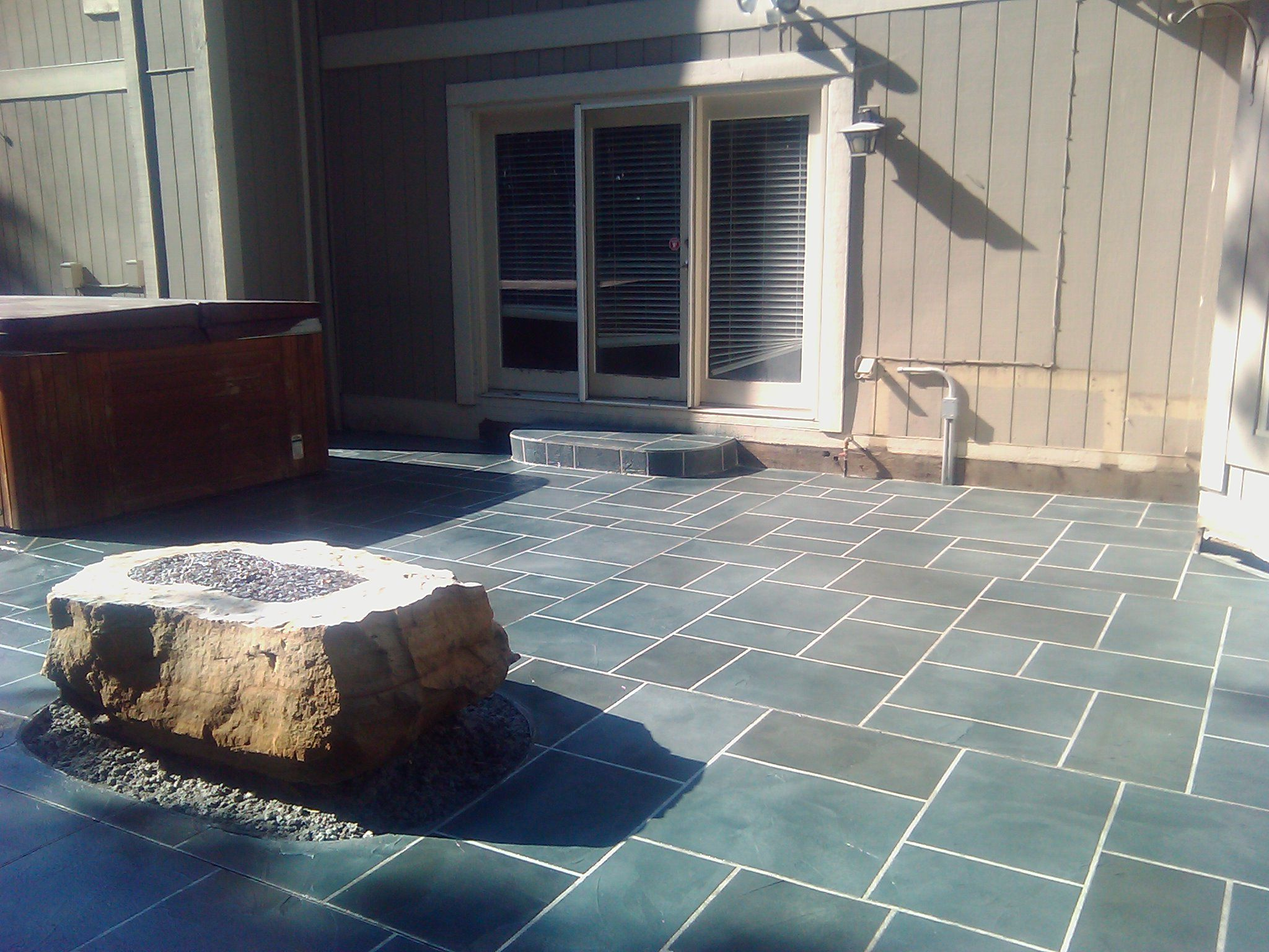 Captivating I Like The Dark Gray/blue Ish Color. // Your Indianapolis Decorative ·  Decorative ConcretePatios