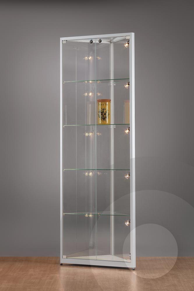 Best Glass Display Cabinets With Lights Keysindy Pertaining To