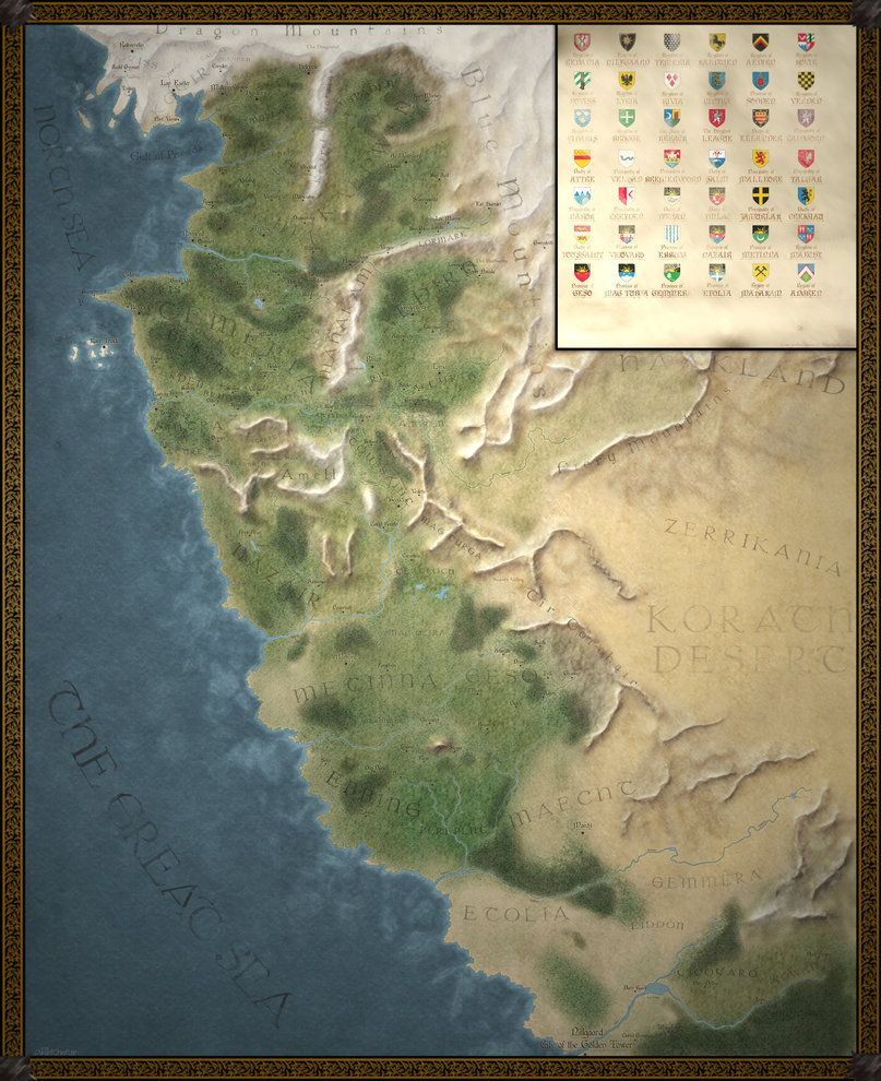 The witcher world map by dwarfchieftain fantastical fandom for the witcher world map by dwarfchieftain gumiabroncs Choice Image