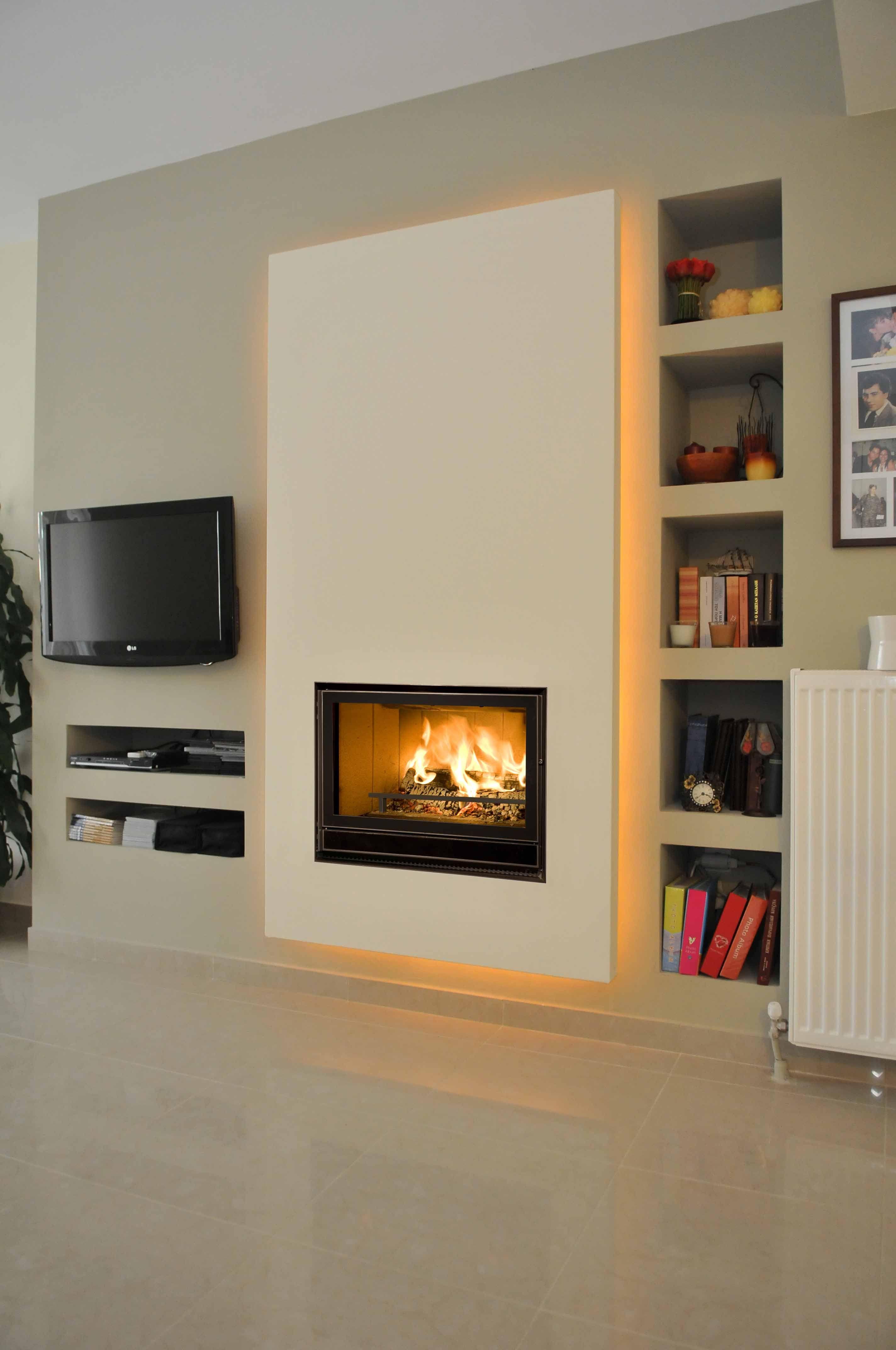 chemin e bois infire 800 green bodart et gonay cheminees pinterest chemin e bois. Black Bedroom Furniture Sets. Home Design Ideas