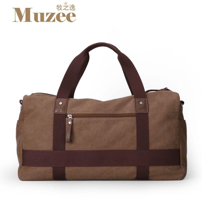 b8cca7ecdb High Quality Large Capacity Travel Bag New Fashion Multifunctional Canvas Travel  Duffle Casual Tote Single Shoulder