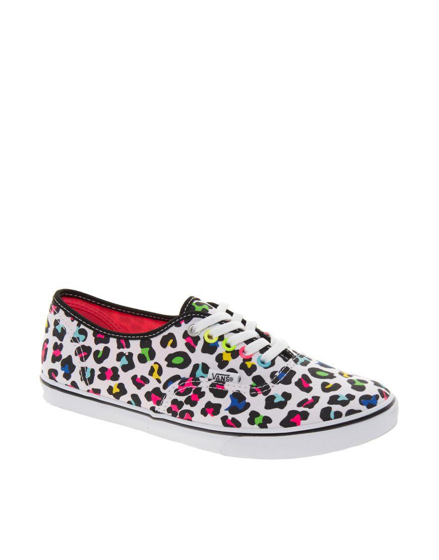 zapatillas leopardo mujer vans
