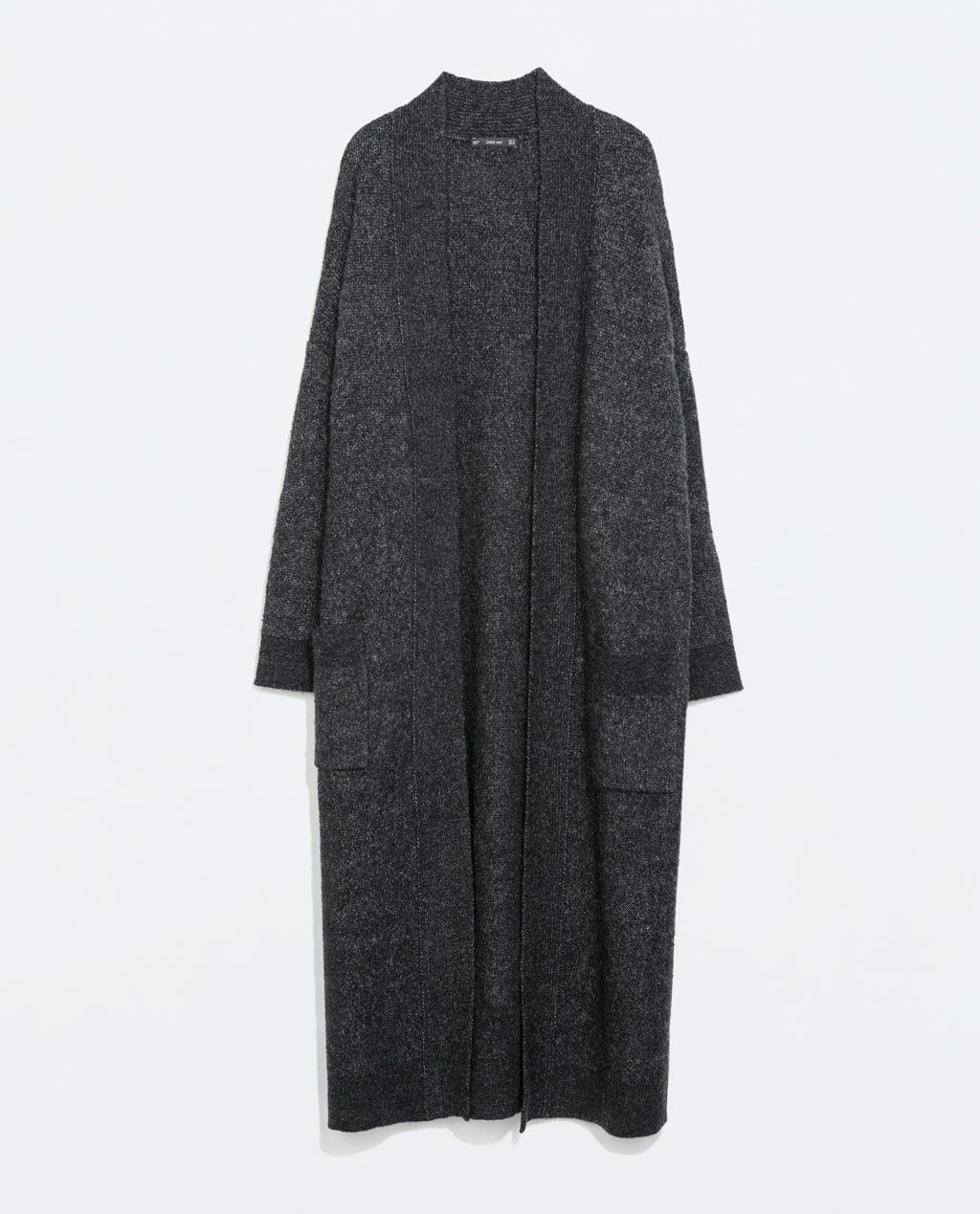Image 8 of EXTRA-LONG CARDIGAN WITH POCKETS from Zara | fashion ...