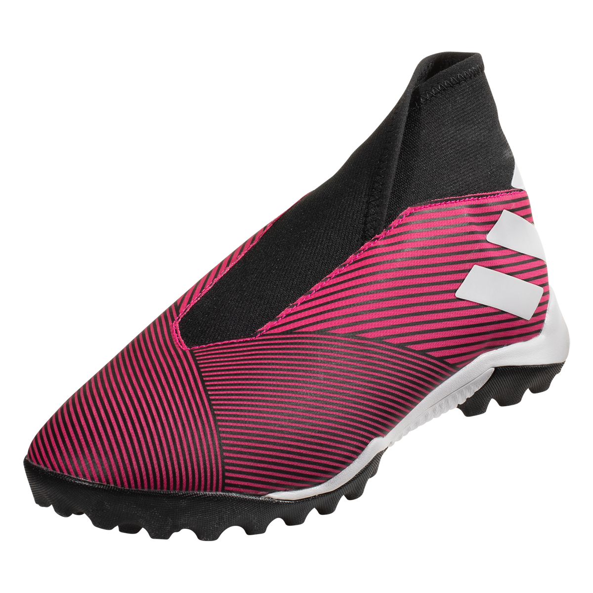 adidas Nemeziz 19.3 Laceless TF Soccer Shoes Shock Pink