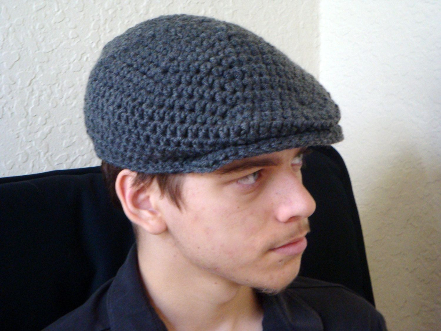 Mens newsboy cap irish donegal cap newsboy hat crochet hat by mens newsboy cap irish donegal cap newsboy hat crochet hat by fiberflowersandbeads on bankloansurffo Choice Image