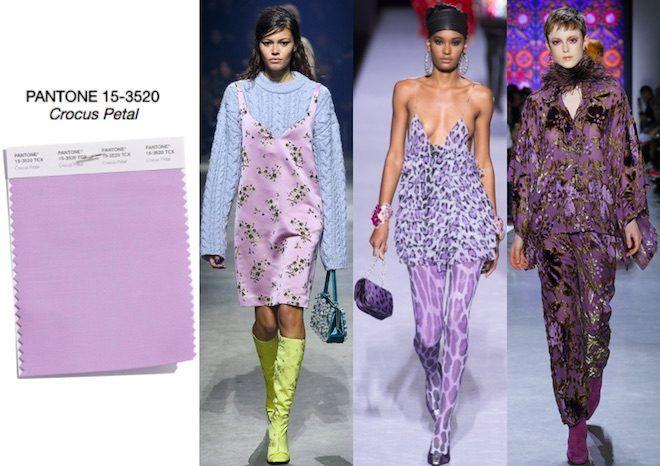 Colores de Moda otoño invierno 2018-19 del Fashion Color ...