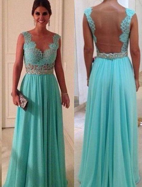 Dress | Tiffany blue dresses, Blue dresses and Long dresses