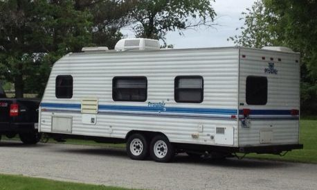 1996 Prowler Camper 23ft L Series Recreational Vehicles Camper Camping
