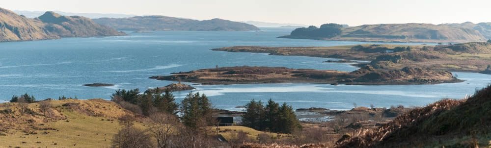 Seil Sound looking south