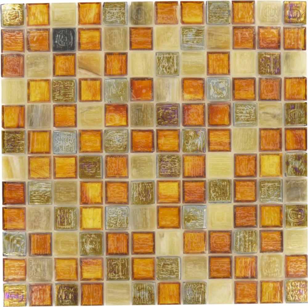 Pin By The Tile Guru On Orange Tiles Iridescent Glass Tiles Glass Tile Shower Iridescent Tile