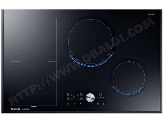 siemens plaque de cuisson 7400w 4foyers induction noir inox