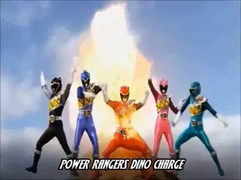 Power Rangers Dino Charge (Abertura em Português)