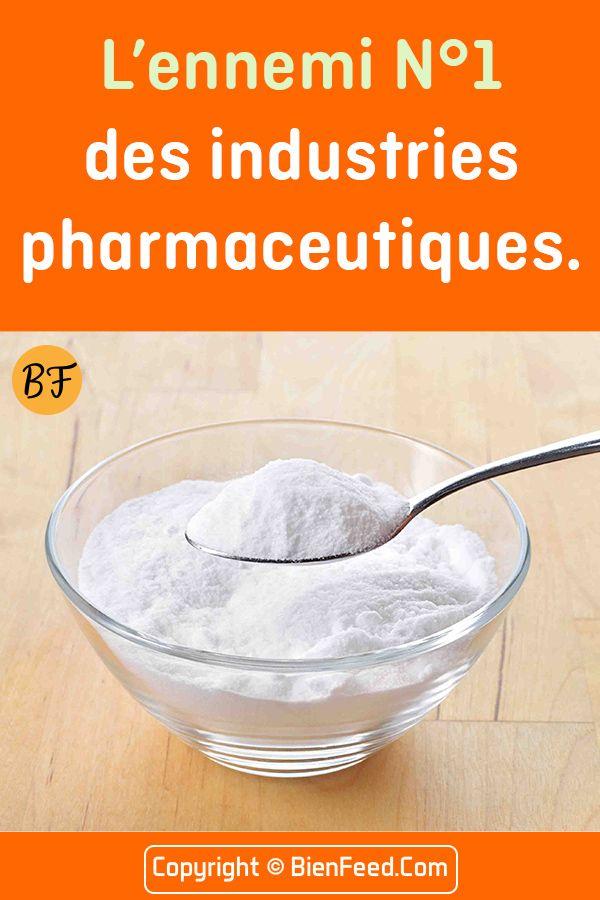 Lennemi numéro 1 des industries pharmaceutiques … bicarbonate de soude !