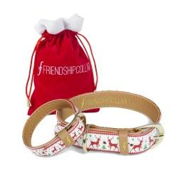 FriendshipCollar - Holiday Collection - Red Nosed Canine - 07