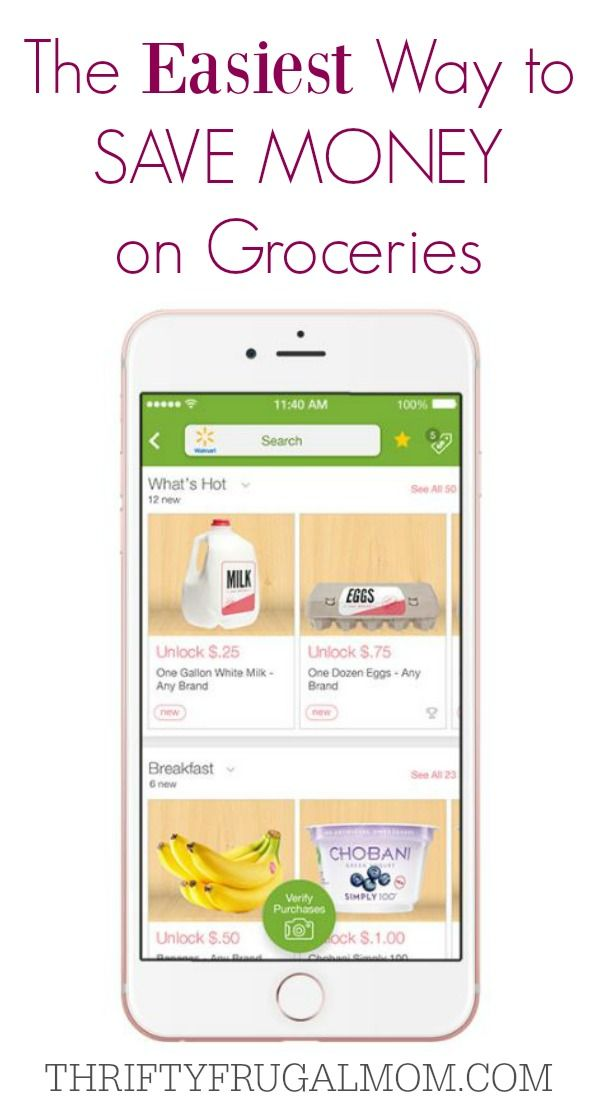 The Easiest Way to Save Money on Groceries Frugal, Frugal living