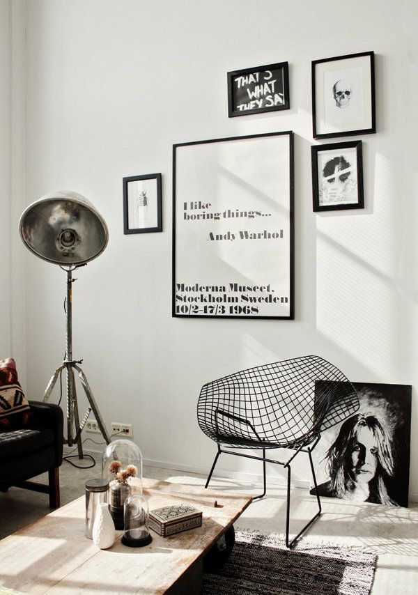 Love the movement of Black & White | My Spaces | Pinterest | 21st ...