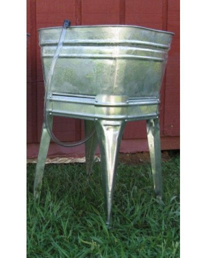 Drain Tubs With Stands Galvanized Owner S Favorite Brands Shop Galvanized Tub Sink Galvanized Wash Tub Wash Tubs