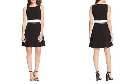 Lauren Ralph Lauren Color Block Popover Dress