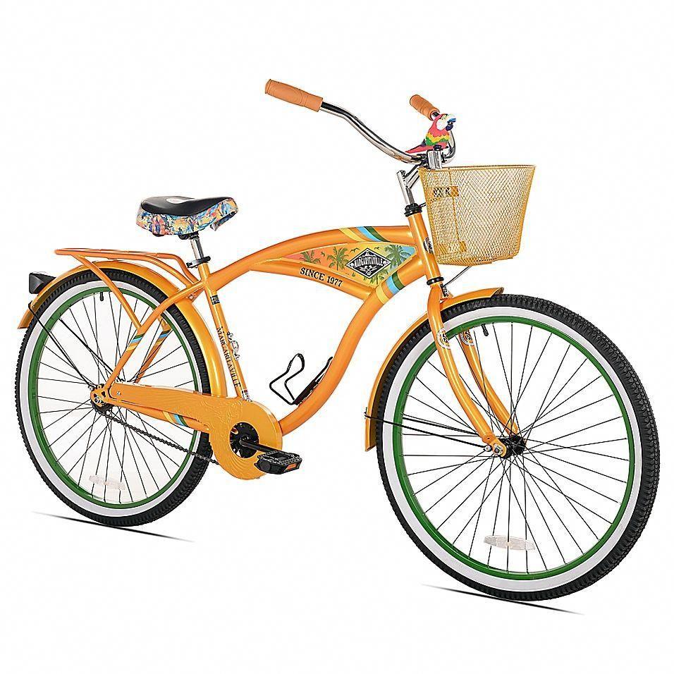 "Margaritaville 26"" Men's Cruiser Bicycle In Orange"