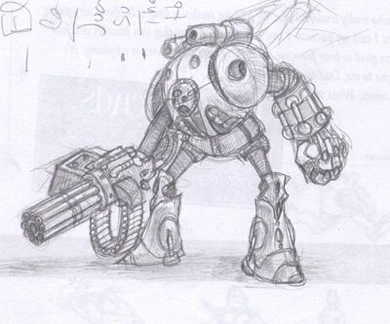 Resultado De Imagen Para Dibujos De Robots Para Colorear A Lapiz