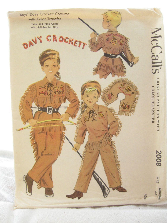Davy Crockett Costume