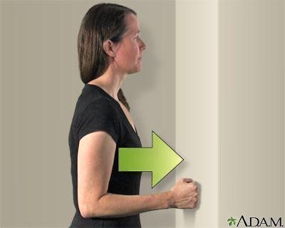 ejercicios isometricos del hombro