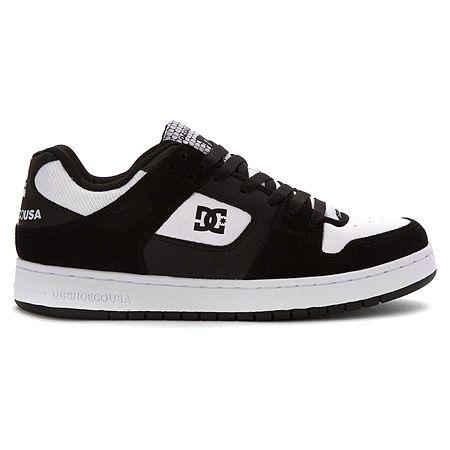 DC Shoes Manteca - Black/White
