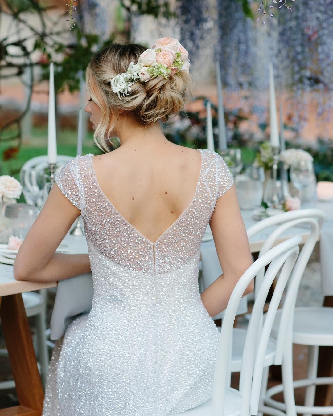 Anna Campbell 2019 Wedding Dresses: The Sydney, Worn With A Boned Silk Bodice Underlay, And