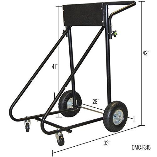 Amazon Com Rage Powersports Omc F315 30 Hp Folding Outboard Motor Cart And Engine Stand Outboard Boa Outboard Boat Motors Outboard Motor Stand Engine Stand