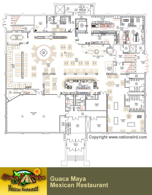 Restaurant Design Projects  Restaurant Floor Plans  F