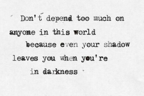 You Adopted The Darkness Quote: Yin Yang Quotes - Google Search