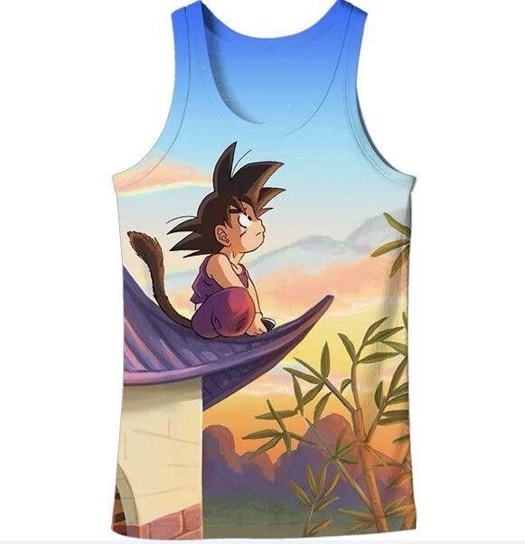 Dragon Ball Z Graphic Summer Anime Tank Top V15